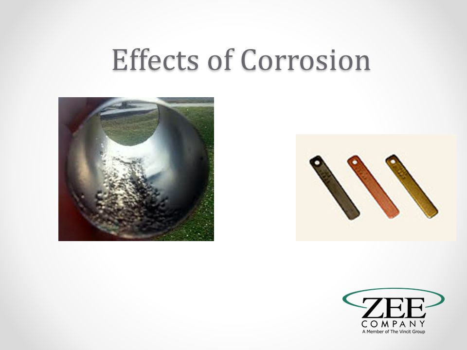 Effects of Corrosion