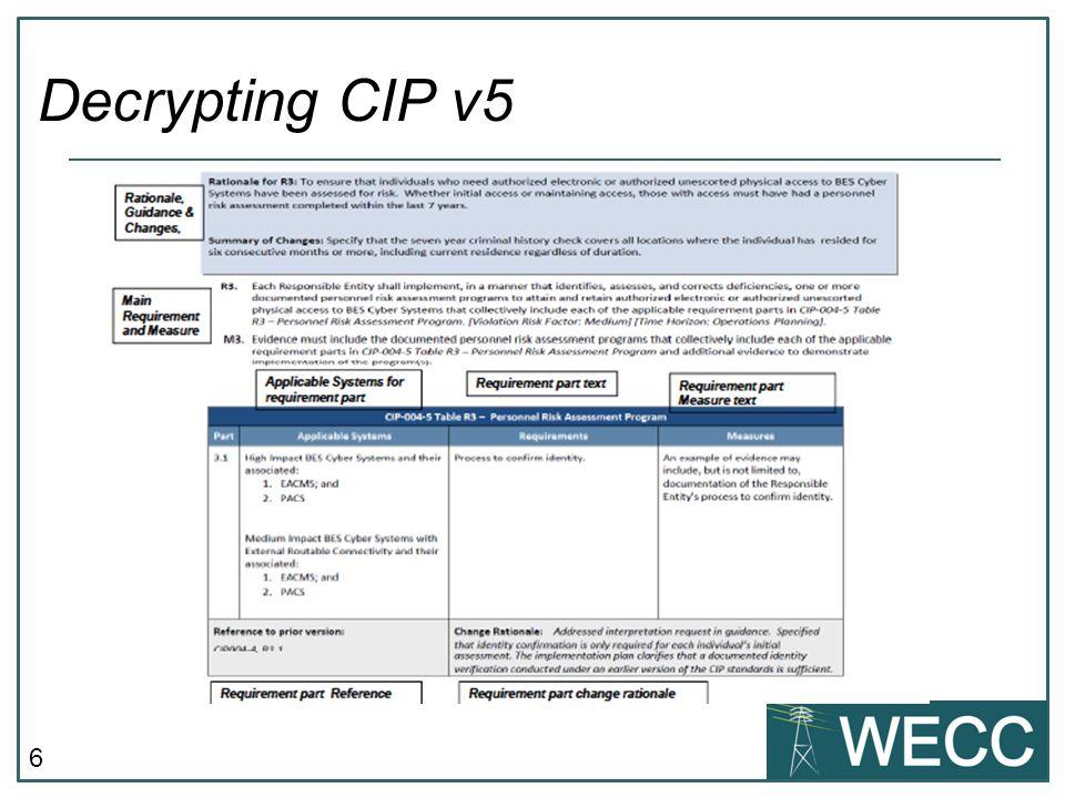 6 Decrypting CIP v5