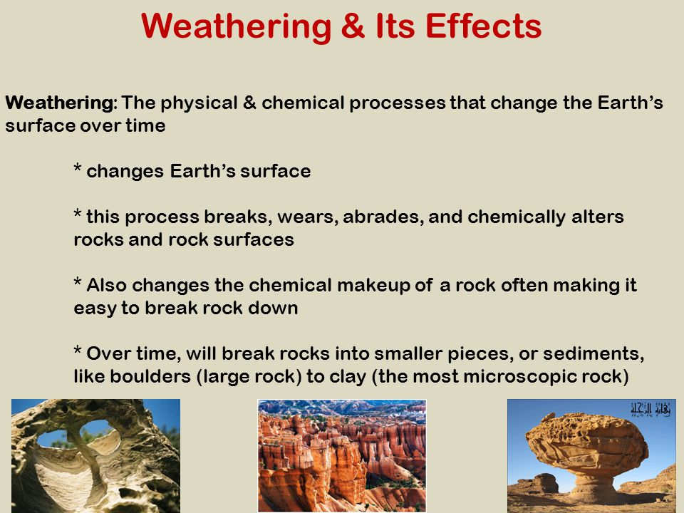 Mechanical Weathering Causes of Mechanical Weathering Ice WedgingAbrasionPlantsAnimals * Frost wedging Water enters cracks in rocks and freezes at 0 °C.