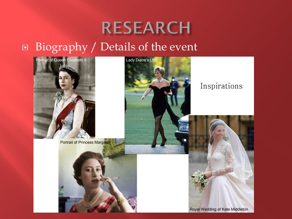  Biography / Details of the event