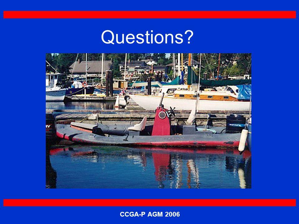 CCGA-P AGM 2006 Questions