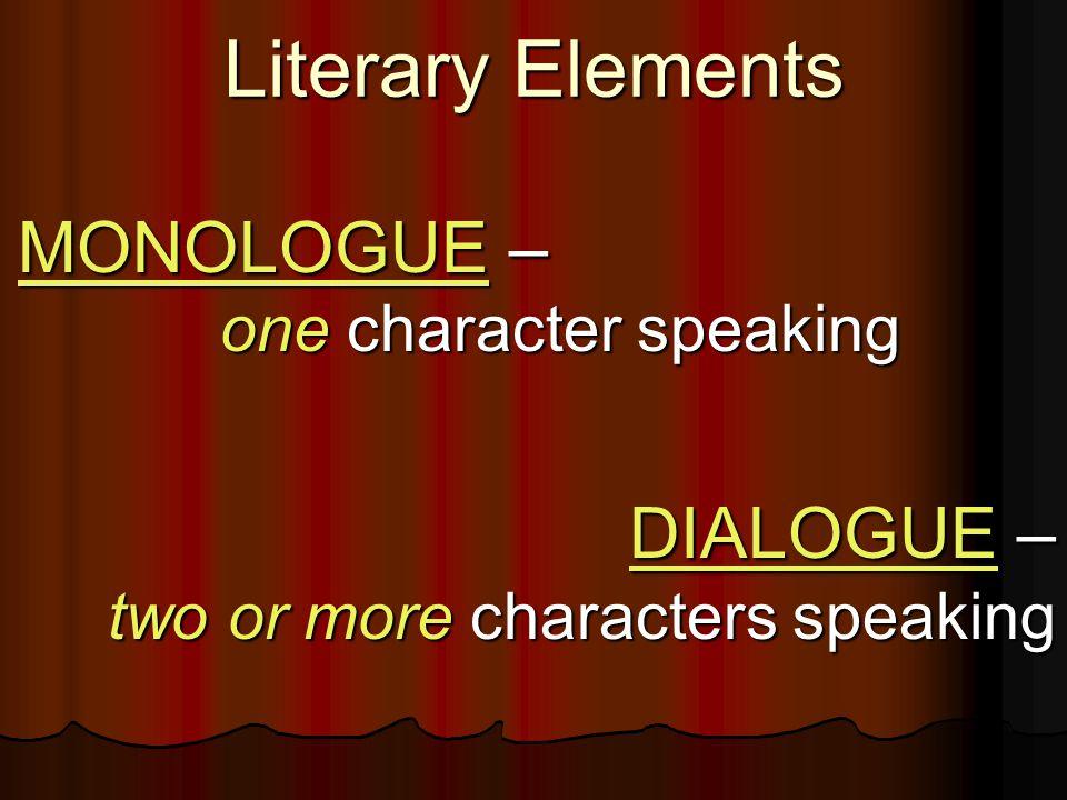 Production Elements of Drama ACT II ACT II
