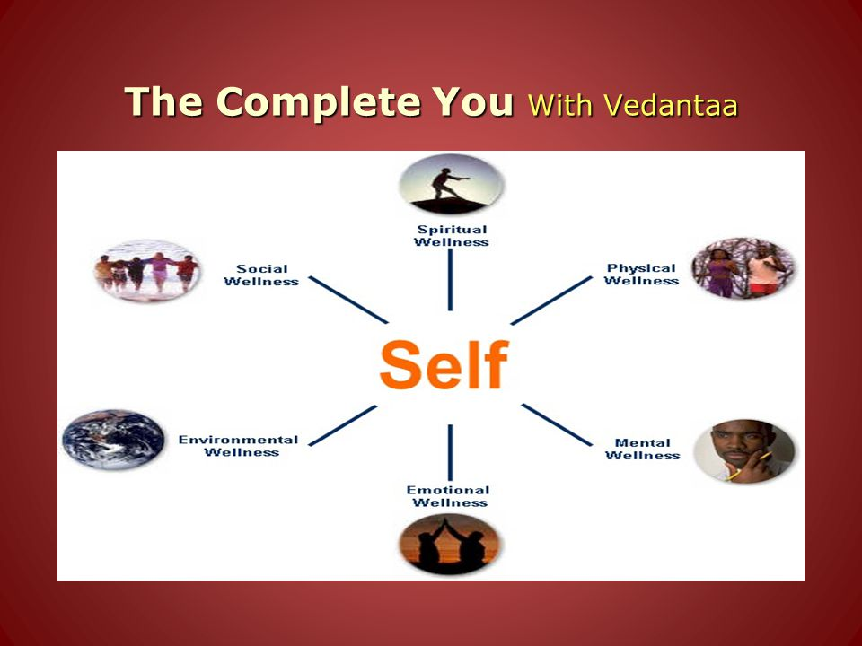 The Complete You With Vedantaa