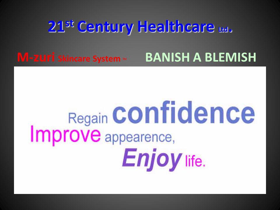 21st Century Healthcare Ltd. M-zuri Skincare System TM BANISH A BLEMISH
