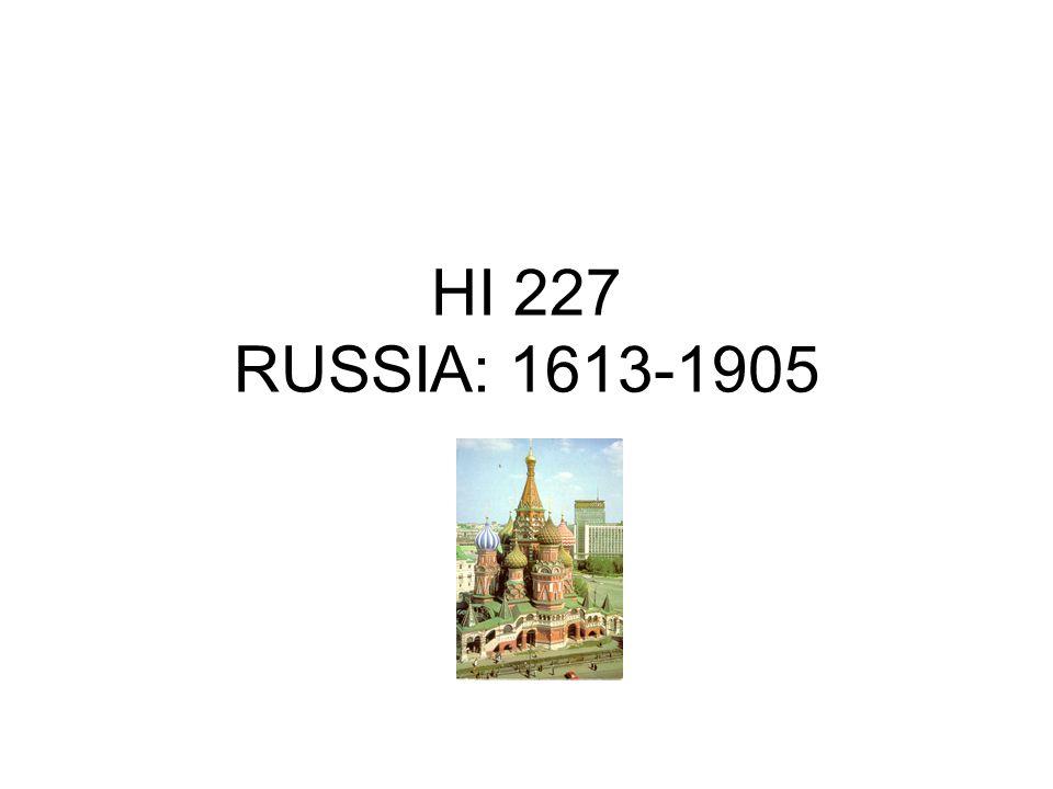 HI 227 RUSSIA: 1613-1905