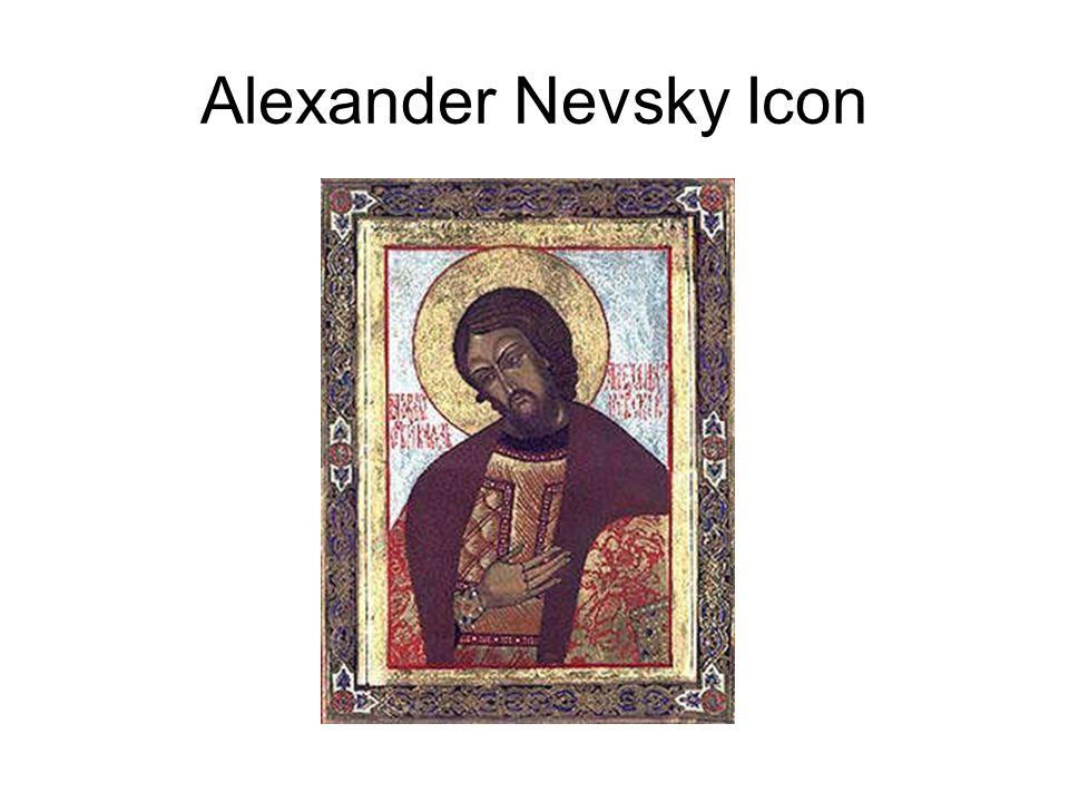 Alexander Nevsky Icon