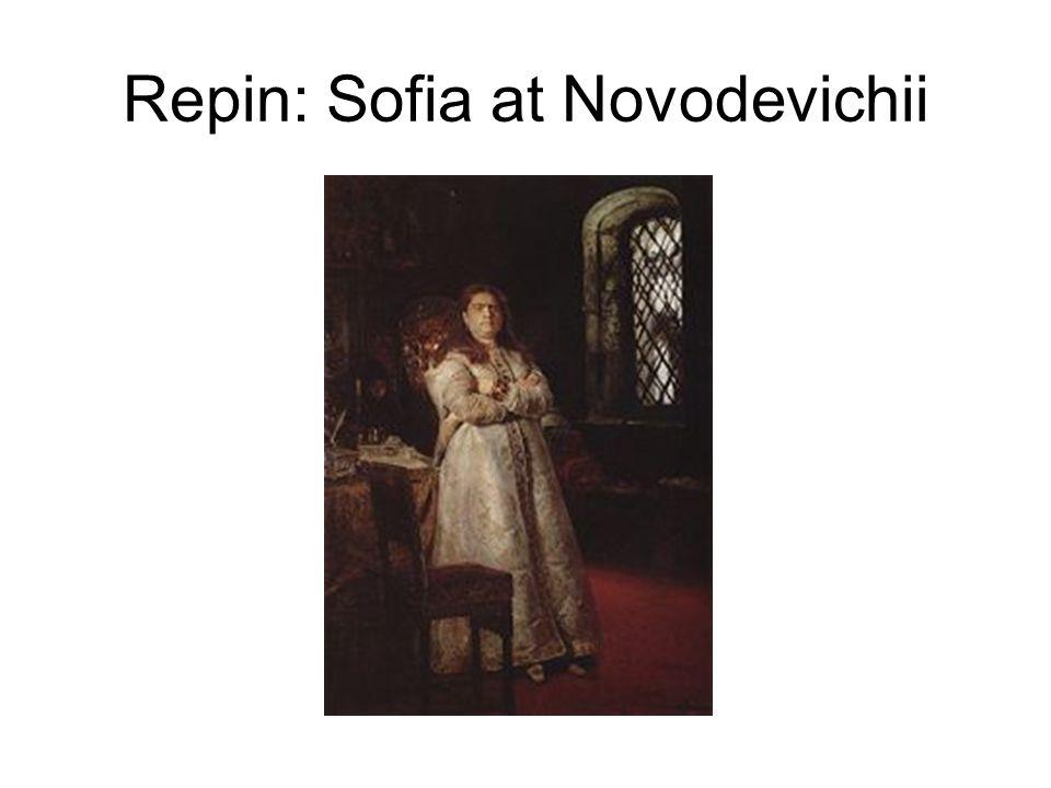 Repin: Sofia at Novodevichii