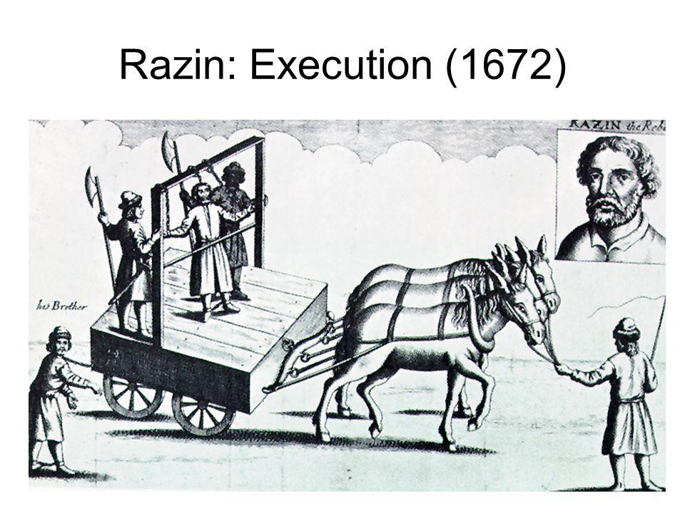 Razin: Execution (1672)