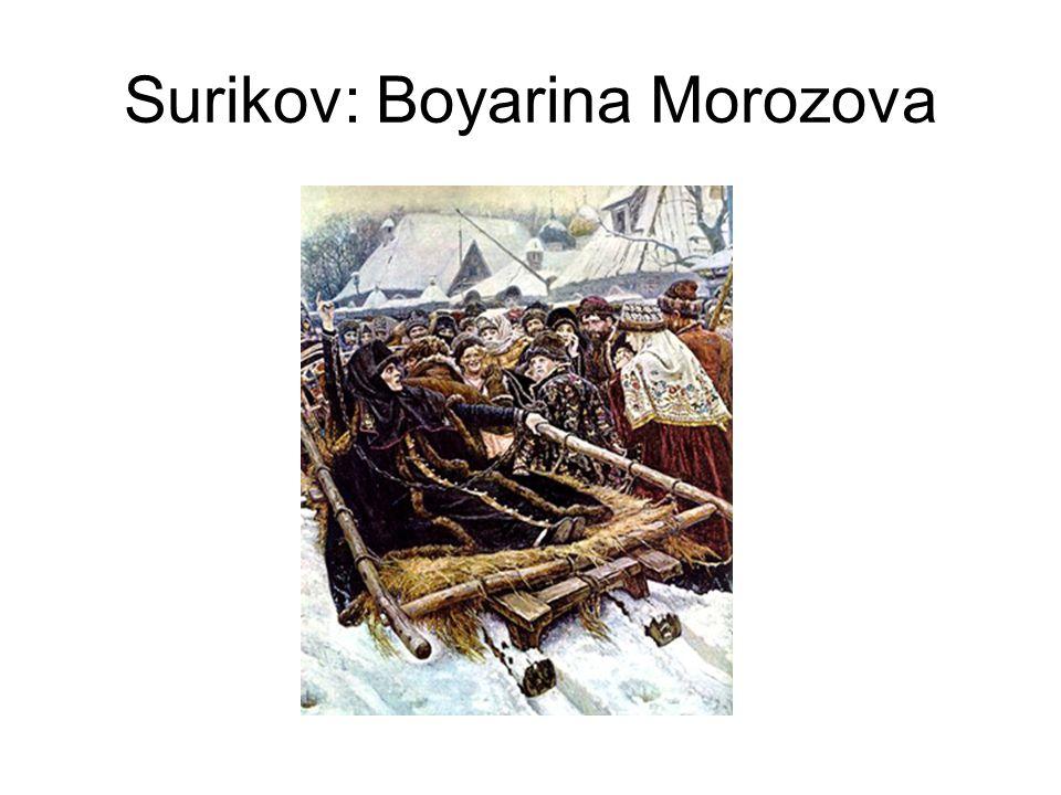 Surikov: Boyarina Morozova
