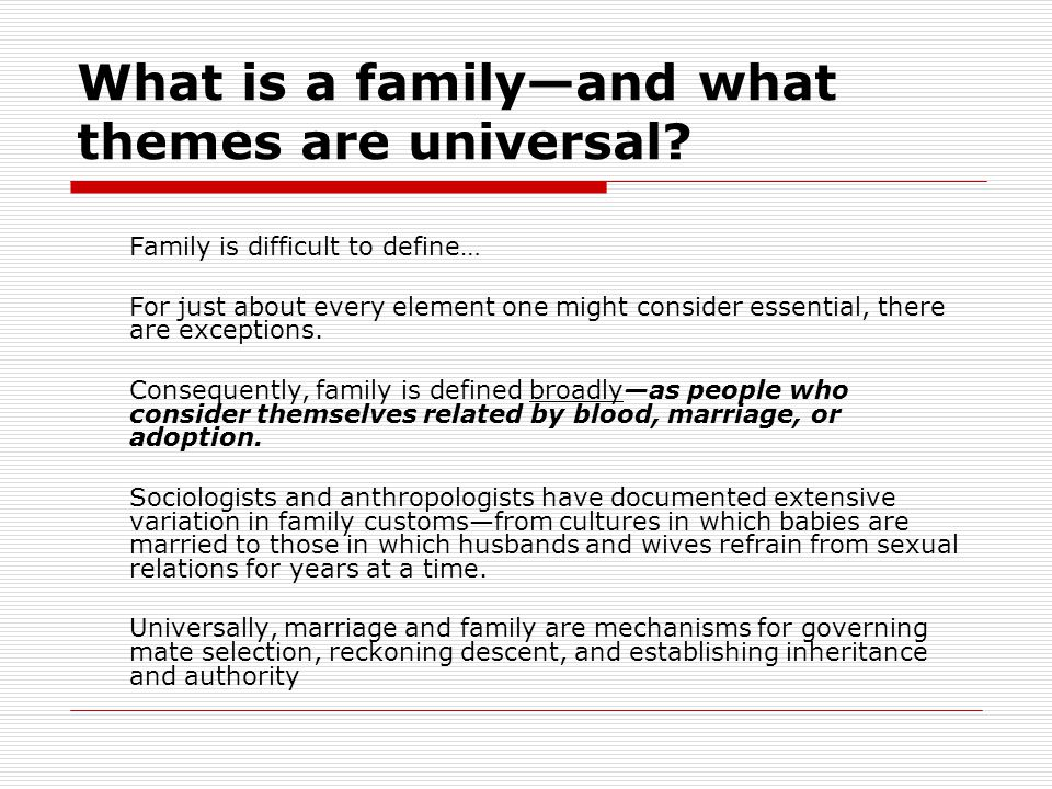 The Future of Marriage and Family What is the likely future of marriage and family.