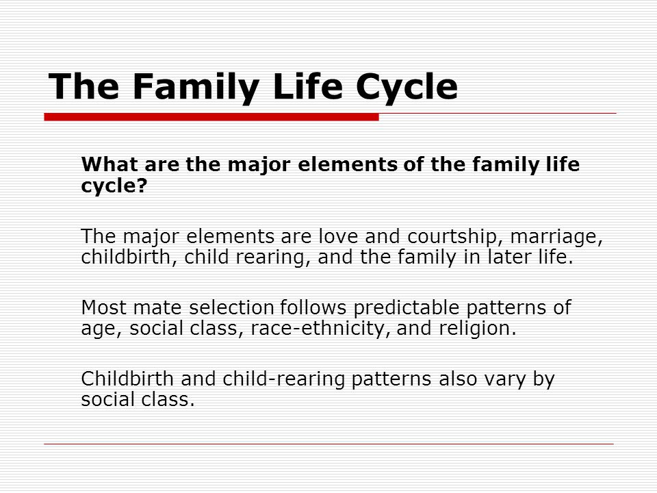 Diversity in U.S.Families How significant is race-ethnicity in family life.