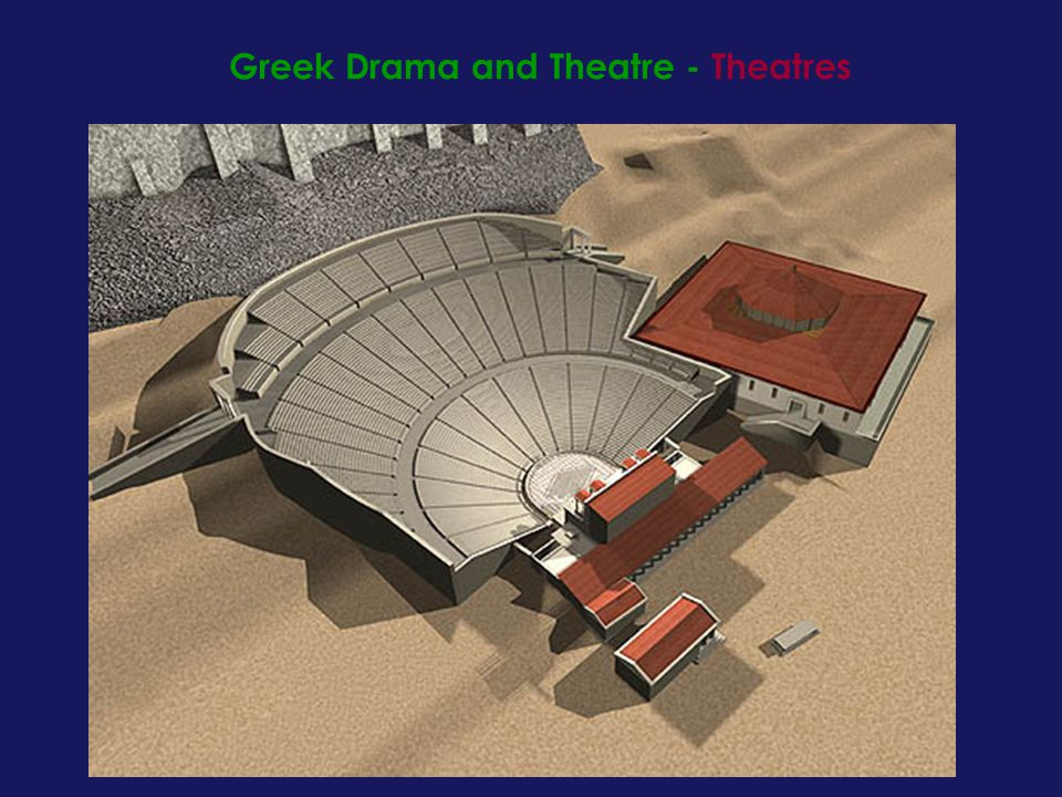 Greek Drama and Theatre - Theatres