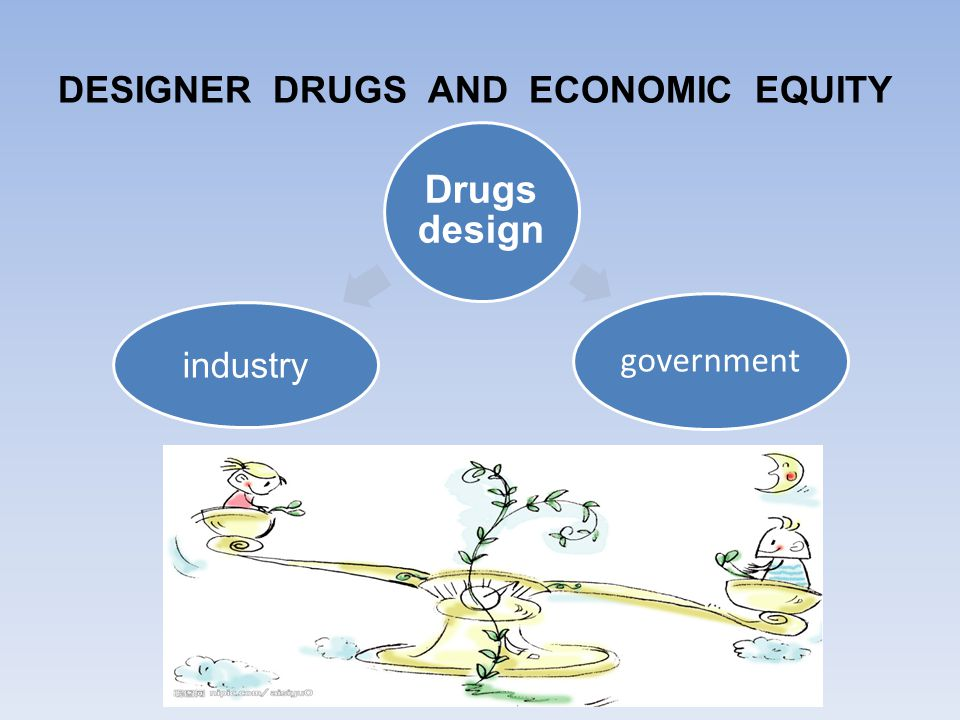 DESIGNER DRUGS AND ECONOMIC EQUITY Drugs design industry government