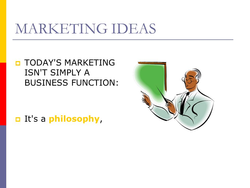 CORE MARKETING CONCEPTS  RELATIONSHIP: