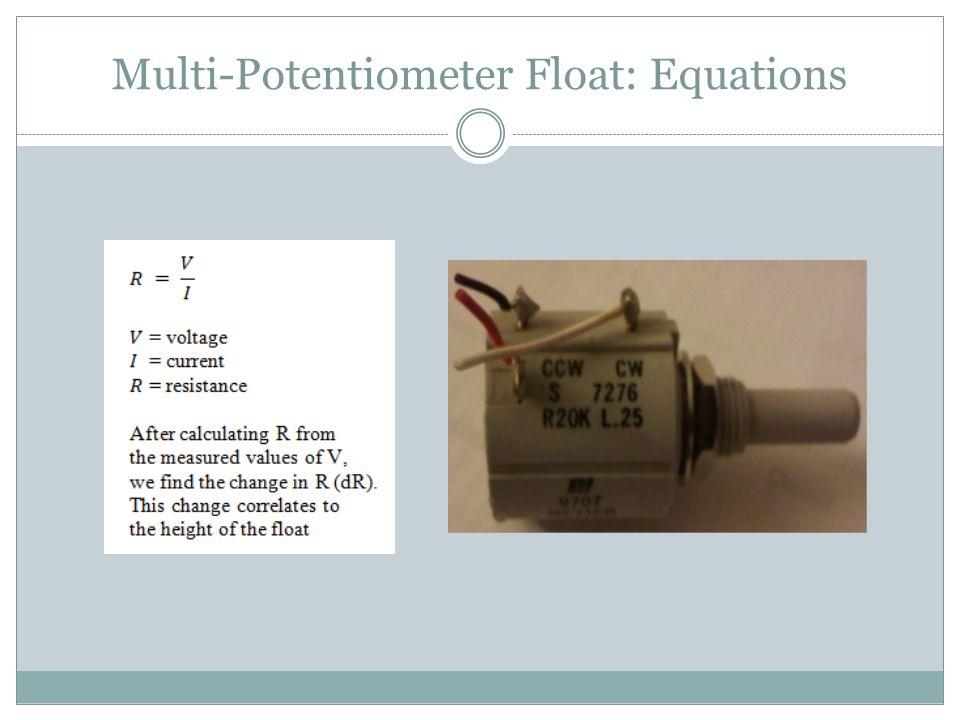 Multi-Potentiometer Float: Equations