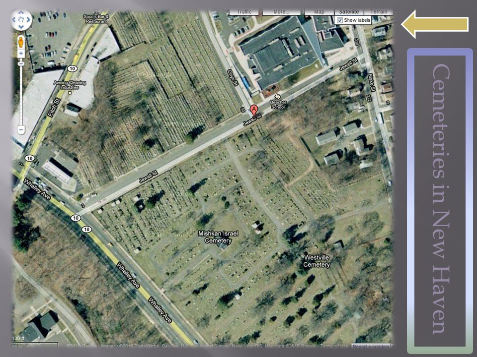 Cemeteries in New Haven