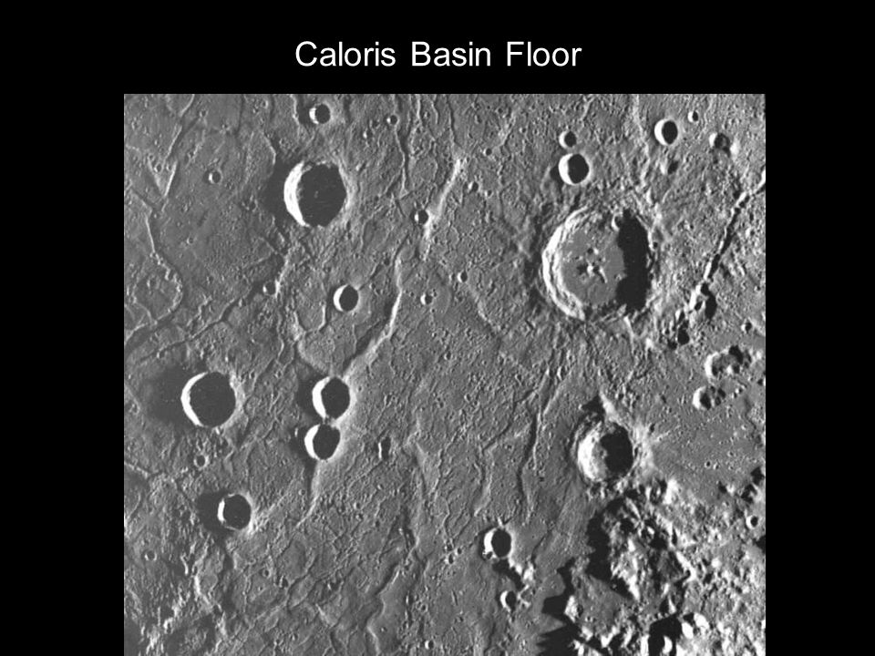 Caloris Basin Floor