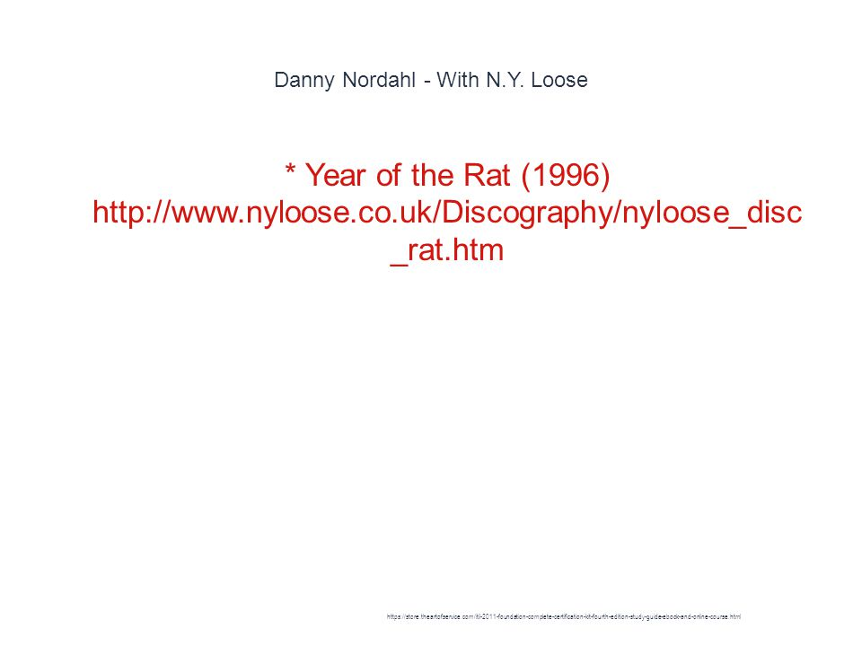 Danny Nordahl - With N.Y.