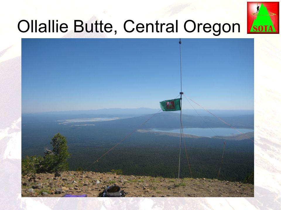 Ollallie Butte, Central Oregon