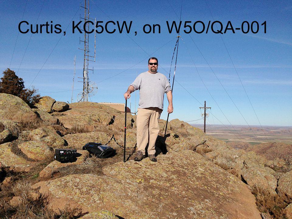 Curtis, KC5CW, on W5O/QA-001