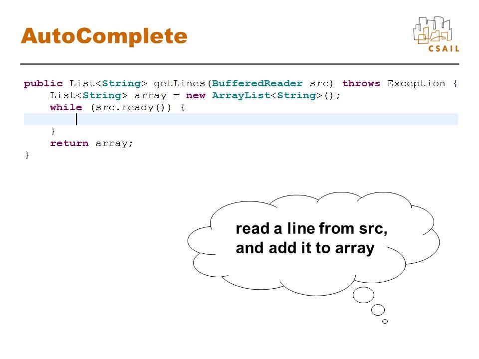Dynamic Program List BufferedReaderString List booleanBufferedReaderString List booleanBufferedReaderString add List, String srcreadLine BufferedReader arrayadd List, String readLine BufferedReader array boolean array src new String src .