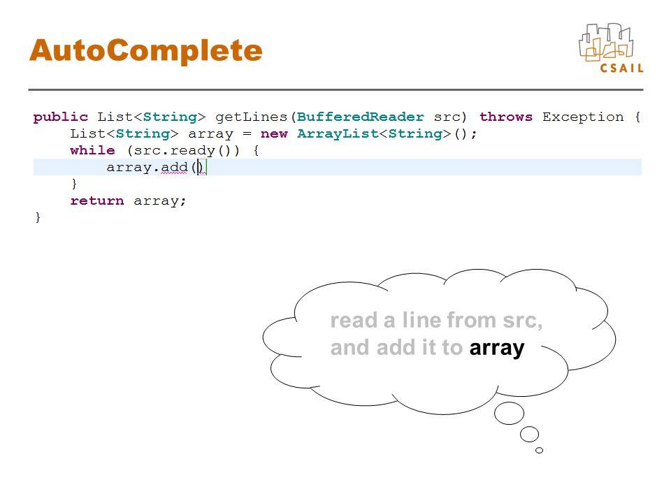 Function Database array List add boolean List, String src BufferedReader