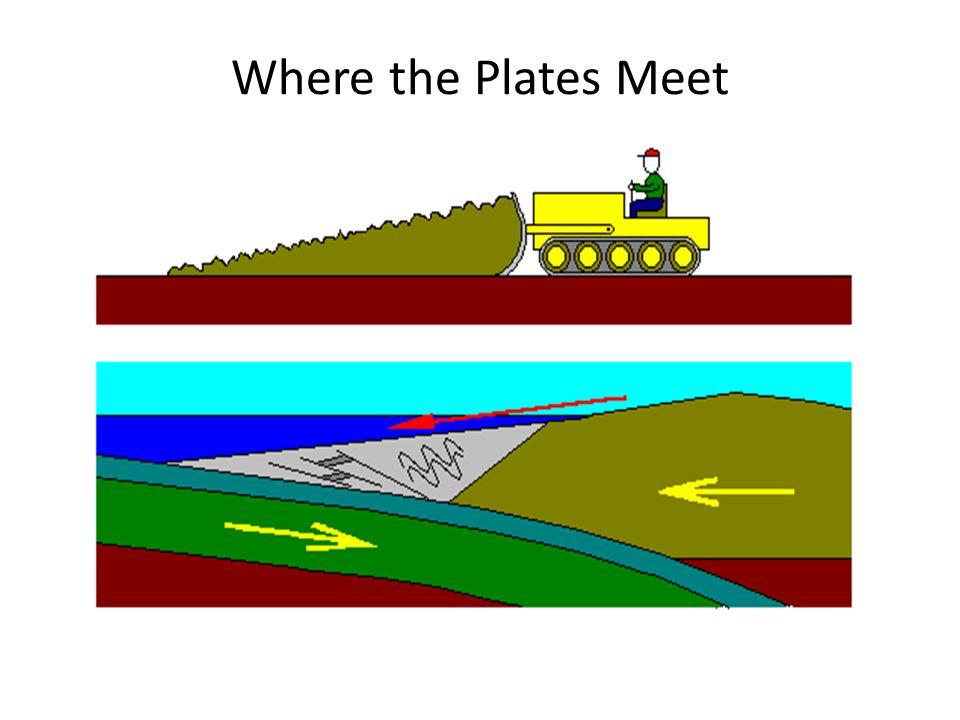 Where the Plates Meet