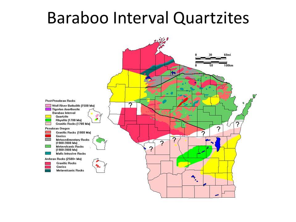 Baraboo Interval Quartzites