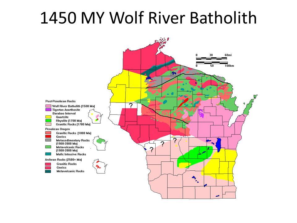 1450 MY Wolf River Batholith