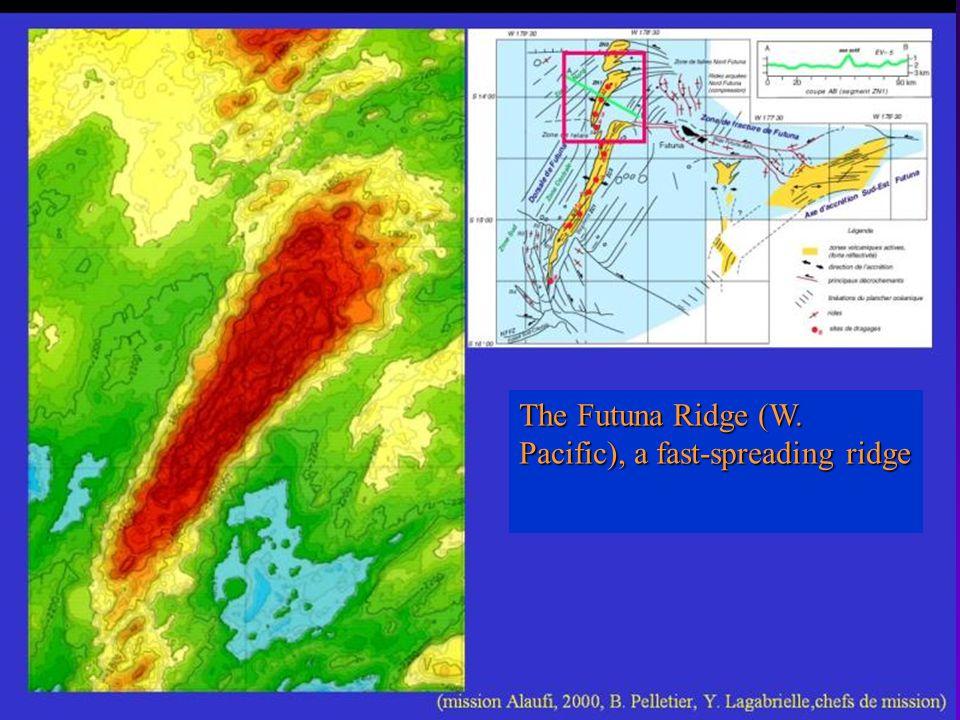 The Futuna Ridge (W. Pacific), a fast-spreading ridge