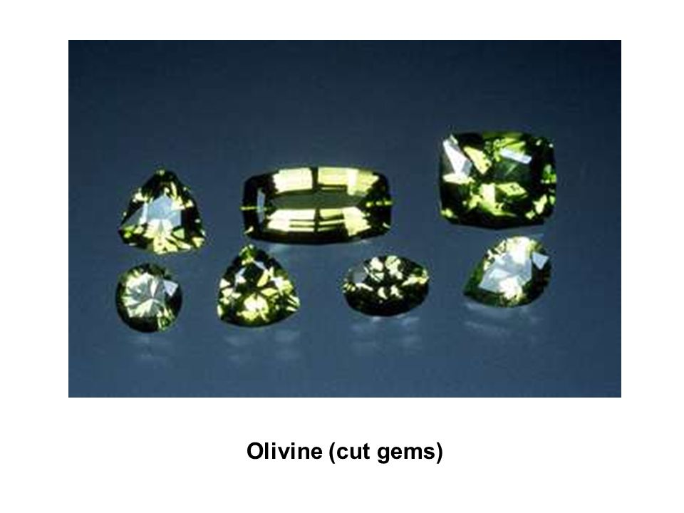 Olivine (cut gems)