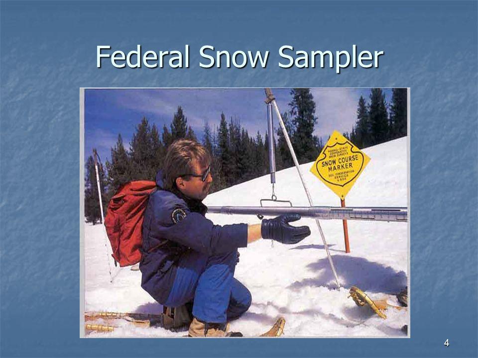 4 Federal Snow Sampler