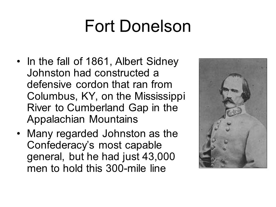 Shiloh The bad roads and unseasoned troops resulted in it taking two full days to cover the 20 miles from Corinth to Shiloh Johnston's second-in- command, Beauregard, urged the offensive be abandoned, but Johnston insisted, I would fight them if they were a million. On the evening of Apr 5, Johnston deployed for battle