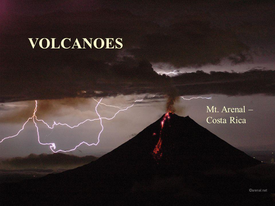 VOLCANOES Mt. Arenal – Costa Rica