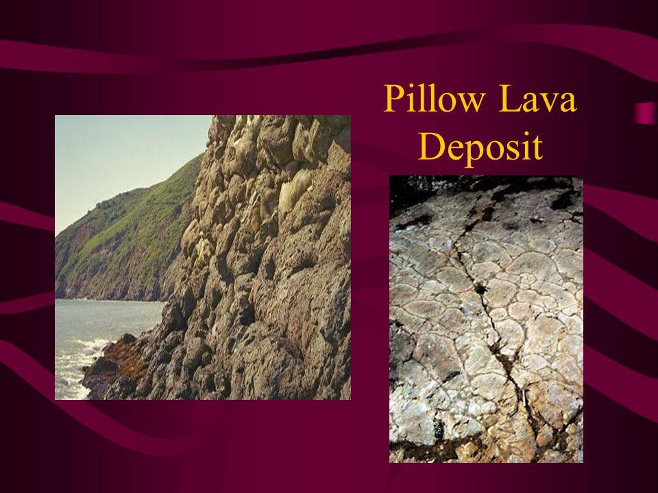 Pillow Lava Deposit