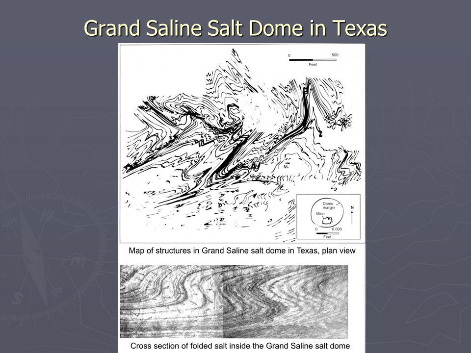 Grand Saline Salt Dome in Texas