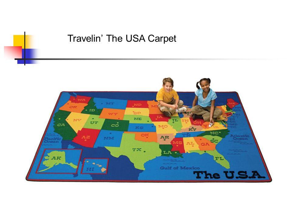 Travelin' The USA Carpet