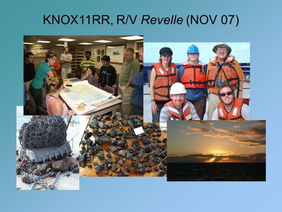 KNOX11RR, R/V Revelle (NOV 07)