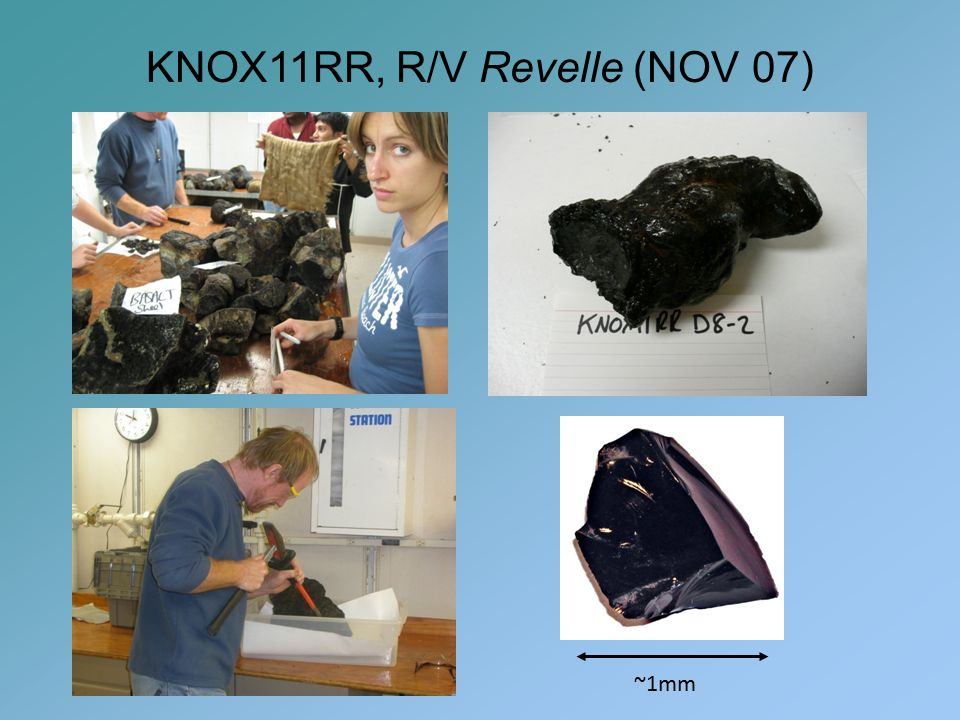 KNOX11RR, R/V Revelle (NOV 07) ~1mm