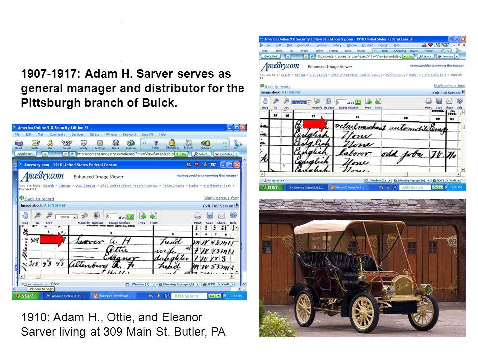 1907-1917: Adam H.