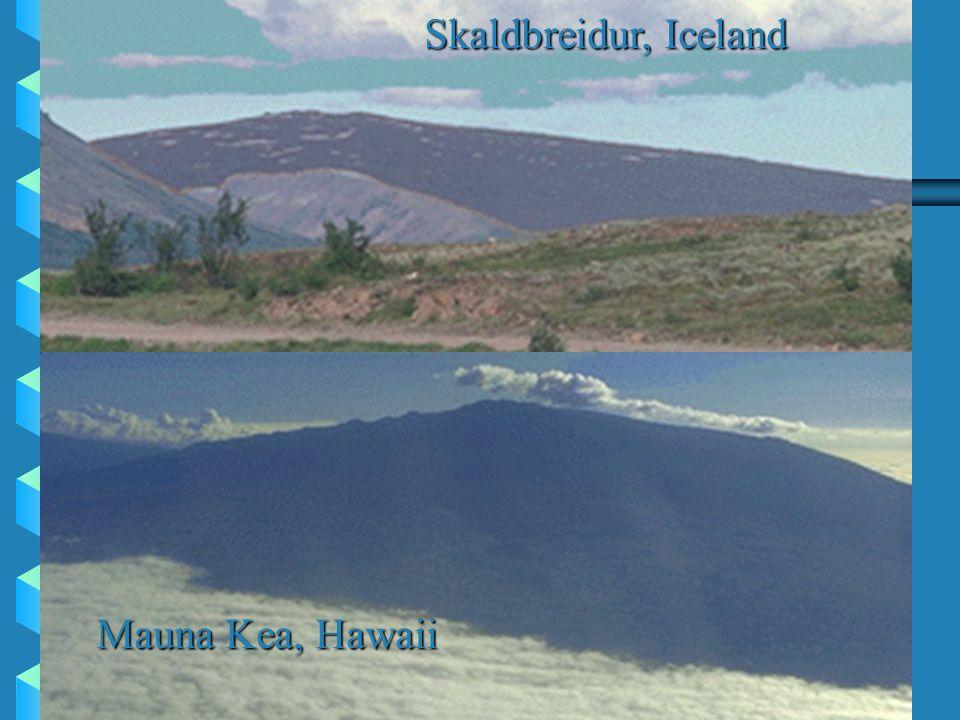 Mauna Kea, Hawaii Skaldbreidur, Iceland