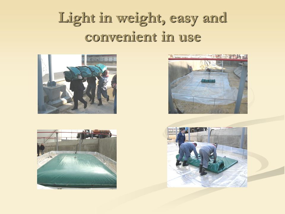 Light in weight, easy and convenient in use