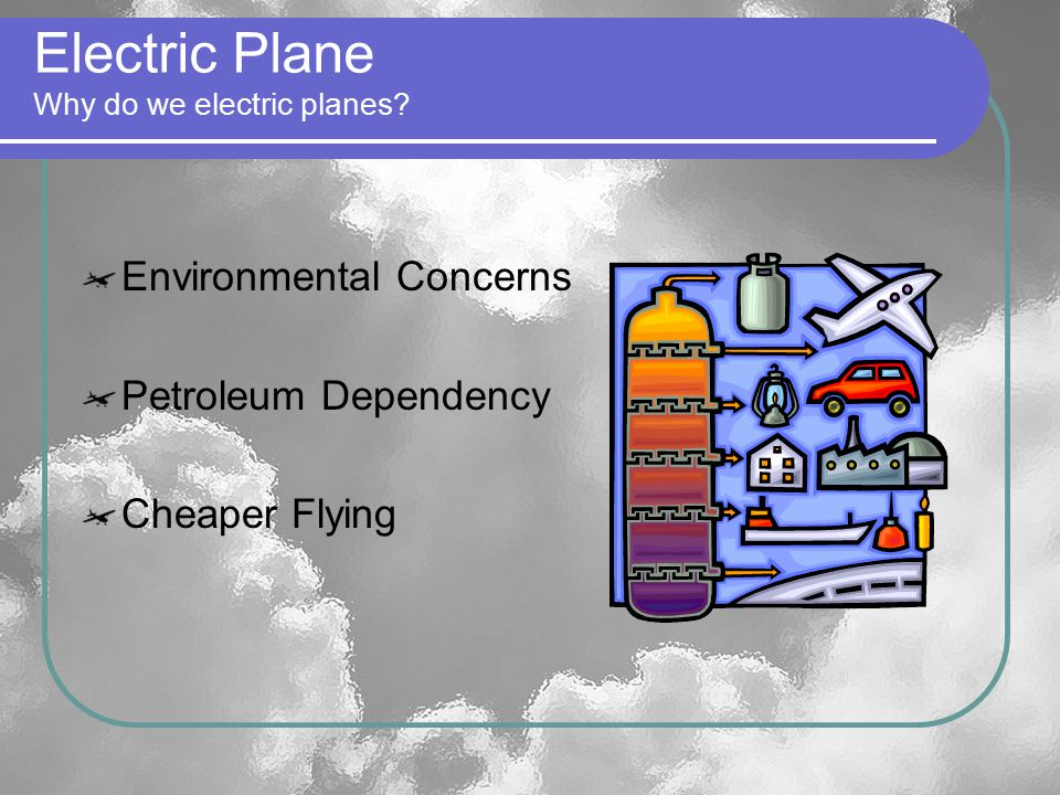 Electric Plane Why do we electric planes.