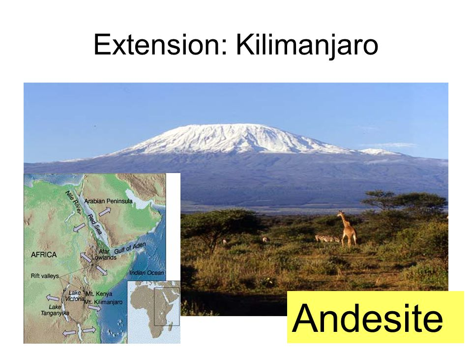 Extension: Kilimanjaro Andesite