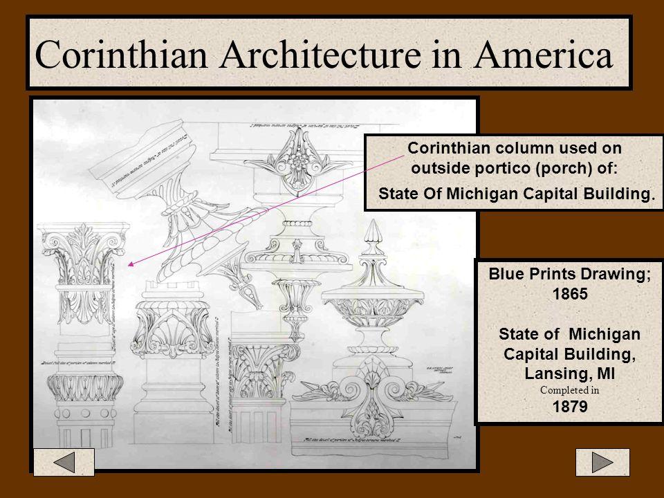 Corinthian Architecture in America New York University, Hall of Fame Terrace, New York Duveen's Gallery, New York City, NY