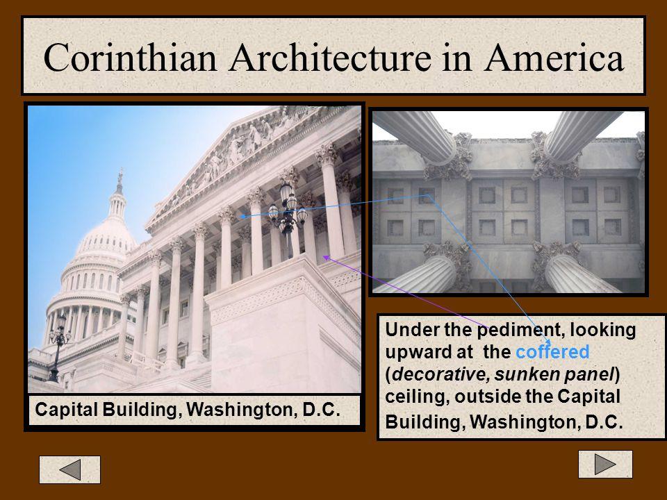 Corinthian Architecture in America State of Michigan Capital Building, Lansing, MI 1879