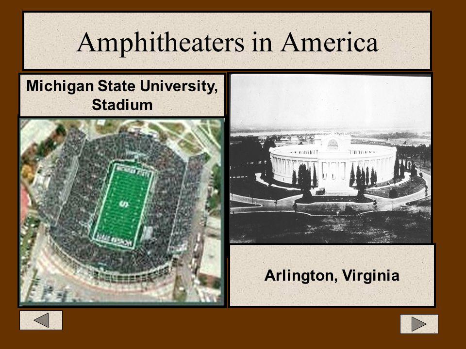 Amphitheaters Amphi- means