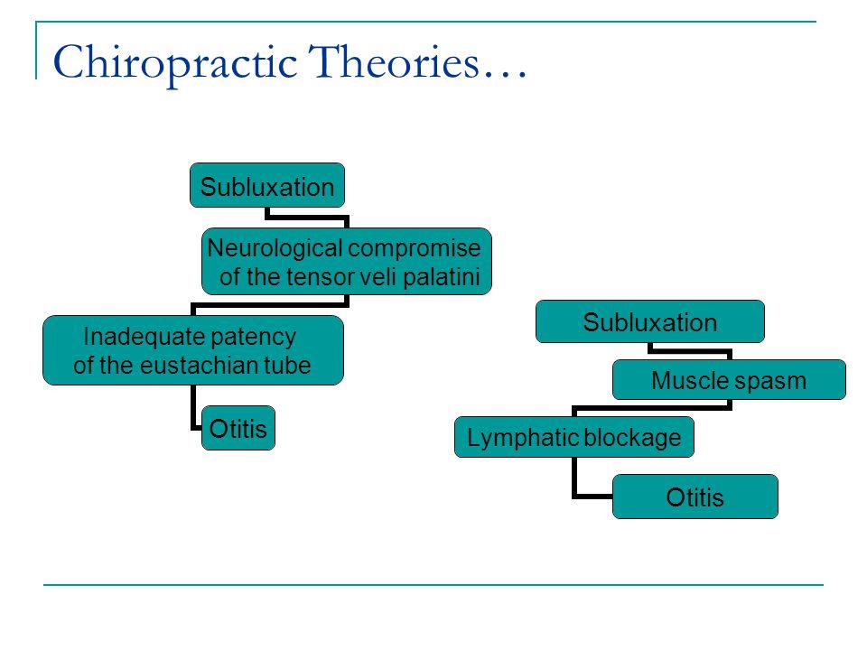 Chiropractic Theories…