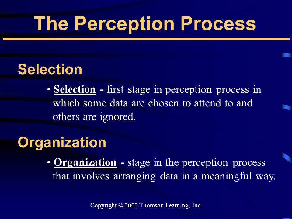 Copyright © 2002 Thomson Learning, Inc.
