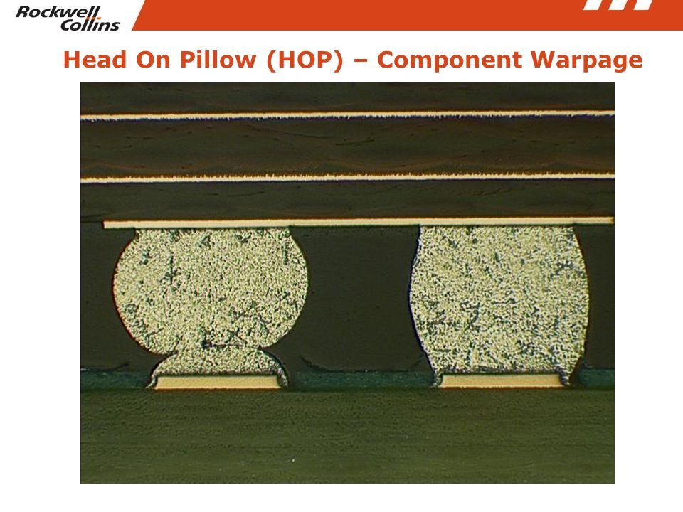 Head On Pillow (HOP) – Component Warpage
